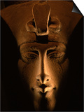 Akhenaten Statue, Pharaohs of the Sun, Luxor Museum, Amarna, Egypt Prints by Kenneth Garrett