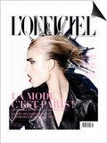L'Officiel, September 2009 - Jana Posters by Enrique Badulescu