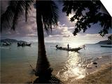 Seascape and Boats, Ko Samui Island, Thailand Prints by Gavriel Jecan