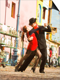 Tango Dancers on Caminito Avenue, La Boca District, Buenos Aires, Argentina Prints by Stuart Westmoreland