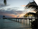 Le Maitai Dream Fakarava Resort, Fakarava, Tuamotus, French Polynesia Prints by Michele Westmorland