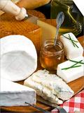 French Cheeses and Honey, France Arte por Nico Tondini