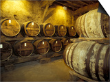 Aging of Armagnac in Gascony Oak Barrels, Aquitania, France Prints by Michele Molinari