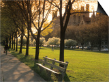 Midway Plaisance at University of Chicago, Chicago, Illinois, USA Prints by Alan Klehr