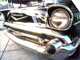 Détail d'une voiture classique, 57Chevy Affiches par Bill Bachmann