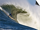 Mavericks Surf Competition 2010, Half Moon Bay, California, Usa Print by Rebecca Jackrel