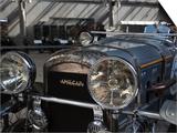 1930s-Era Amilcar Racing Car, Riga Motor Museum, Riga, Latvia Affiche par Walter Bibikow