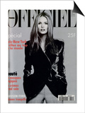 L'Officiel, November 1994 - Elle Mc Pherson Habillée Par Giorgio Armani Prints by Francesco Scavullo