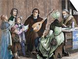 Martin Luther (Eisleben, 1483, Eisleben, 1546) Plakater af Prisma Archivo