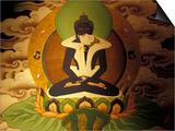 Vassi Koutsaftis - Thanka Painting, Tibet Obrazy