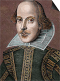 William Shakespeare (Stratford-On-Avon, 1564-1616). English Writer Posters by  Prisma Archivo