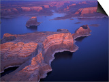 Aerial of Lake Powell, Glen Canyon NRA, Utah, USA Prints by Art Wolfe