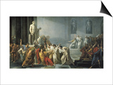 The Death of Julius Caesar Art by Vincenzo Camuccini