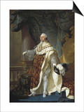 Portrait of Louis XVI Posters by Antoine Francois Callet