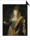 Elizabeth I, Queen of England Prints by George Peter Alexander Healy