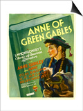Anne of Green Gables, Anne Shirley on Window Card, 1934 Prints