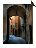 Siena Alley I Poster by Jim Chamberlain