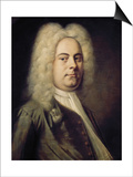 George Frideric Händel Poster by Balthasar Denner