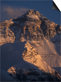 Mt. Everest at Sunset From Rongbuk, Tibet Prints by Vassi Koutsaftis