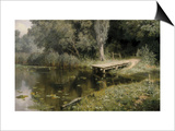 The Overgrown Pond Posters by Vasilij Dmitrievich Polenov