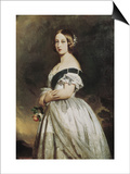 Queen Victoria Prints by Franz Xavier Winterhalter