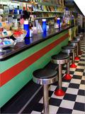 Ice Cream Soda Fountain, Apalachicola, Florida, USA Prints by Joanne Wells