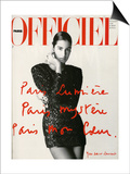 L'Officiel, May 1990 Prints by  Hiromasa