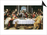 The Last Supper Poster by Juan Juanes