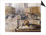 The New Moscow Prints by Yuri Ivanovich Pimenov