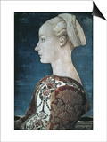 Portrait of a Young Woman Prints by Antonio Pollaiolo