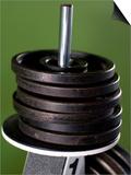 Close-Up of Gym Weightlifting Equipment Prints by Matt Freedman