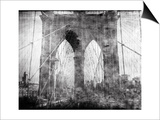 Brooklyn Bridge in Verichrome Prints by Evan Morris Cohen