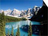 Wenkchemna Peaks and Moraine Lake, Banff NP, Alberta, Canada Prints by Adam Jones