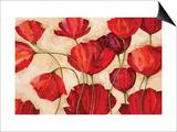 Poppy Field I Prints by Robert Charon
