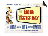 Born Yesterday, Broderick Crawford, Judy Holliday, William Holden, 1950 Prints