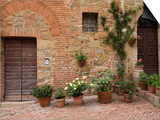 Monticchiello, Val D'Orcia, Siena Province, Tuscany, Italy Posters by Sergio Pitamitz