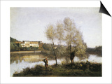 Ville D'Avray Prints by Jean-Baptiste-Camille Corot