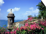 Old City Walls, Old San Juan, Puerto Rico Prints by David Herbig
