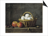 The Basket of Eggs Posters by Henri Horace Roland De La Porte
