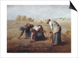 The Gleaners (Des Glaneuses Ou Les Glaneuses) Print by Jean-François Millet