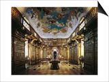 Melk Abbey, Library Prints by Jakob Prandtauer