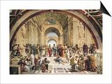 Stanza Della Segnatura: the School of Athens Art by  Raphael