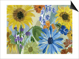 Sunflowers Posters by Gayle Kabaker