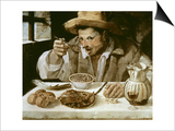 The Beaneater Prints by Annibale Carracci