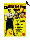 Cabin In The Sky, Lena Horne, Eddie 'Rochester' Anderson, Ethel Waters, 1943 Prints