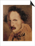 Portrait of Gaetano Donizetti Prints by Domenico Induno