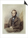 Litography Posters by Charles Robert Darwin