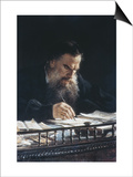 Portrait of Leon Tolstoy Posters by Nikolai Nikolajevitch Gay