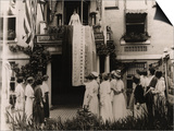Alice Paul Displays the National Woman's Party Ratification Banner on Aug 18, 1920 Posters