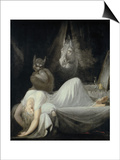 The Nightmare Print by Johann Heinrich Fuseli